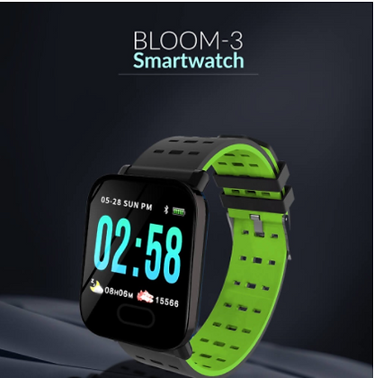 Bloom-3 Smart Watch- Fitness Activity Tracker TOR-83