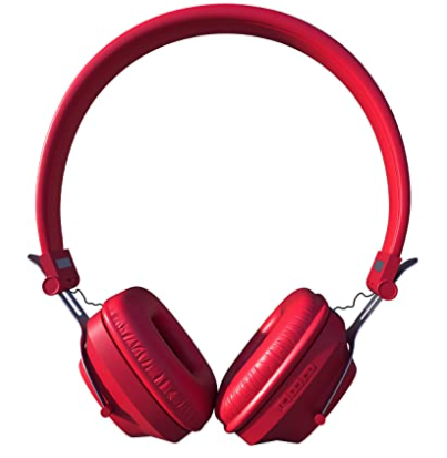 Xplosive pro-207, On Ear Bluetooth Headphones with Mic-(TOR 207-Red/Blk)