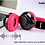 Thumbnail: THP 201 Bluetooth Headphone (RED/ BLUE)
