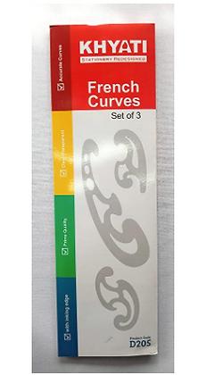 KHYATI French Curve Set