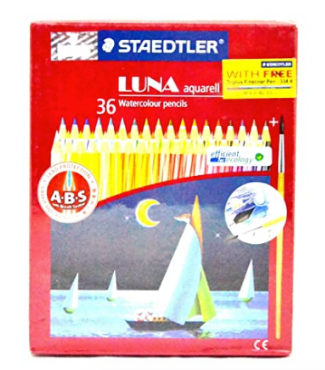 Staedtler Luna Classic Aquarell Water color Pencil, 36