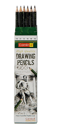 Camlin Drawing Pencil - Pack of 6