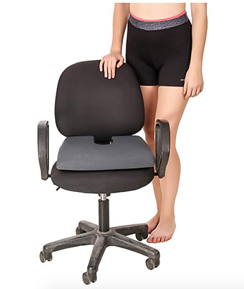 Non-Slip Orthopaedic Coccyx Seat Cushion Tailbone & Sciatica