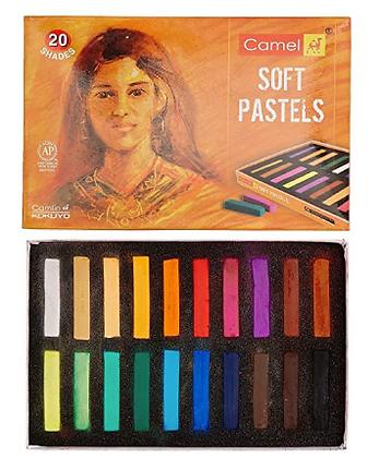 Camlin Soft Pastels, 20 shades