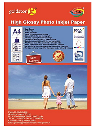 Photo Glossy Paper 180gsm, 1pkt
