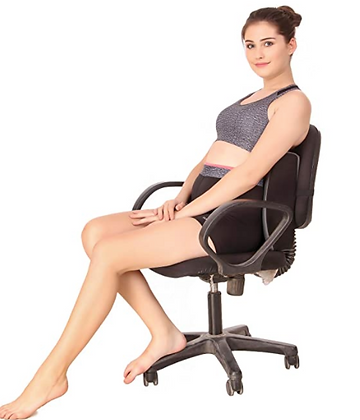 Lumbar Back Rest Support Cushion for Back Pain Relief Office Chair