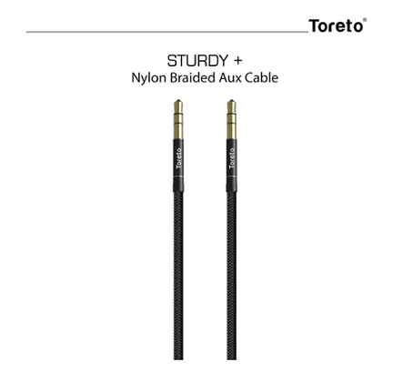 Sturdy+ 609, Aux Cable 3.5mm (1.5M) Male to Male Stereo Audio aux Cable