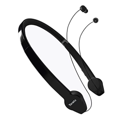 Flexo-806, in Ear Retractable Bluetooth headsets with Mic(TOR-806, Black)