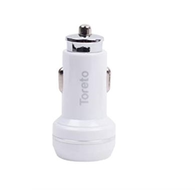 """Dual Port USB Car Charger-TOR 409""""Rapid Charger 12"""""""