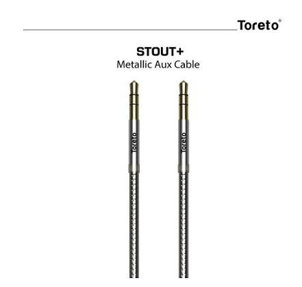 STOUT PLUS TOR 610 1.5 m AUX Cable(Compatible with Premium Stereo Device