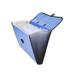Piano Expanding File Folder, (Piano File) Letter Size (Fits A4 Paper)