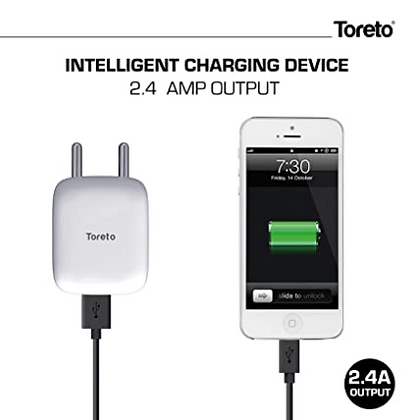 2.4A Smart Wall Charger Adapter with BIS Certification TOR-521
