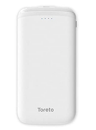 Ultra Slim 10000 MAH Power Bank with LED Light display-TOR-31 Zest