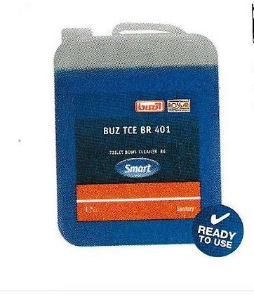 BUZ TCE BR401, 5L- Toilet bowl cleaner