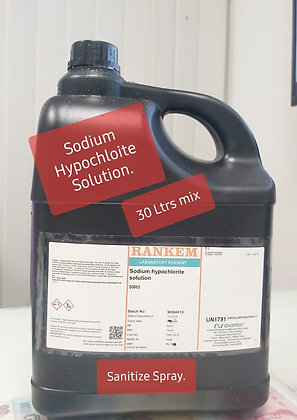Sodium Hypochlorite Solution 30L
