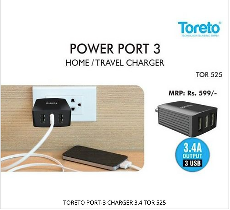 PORT-3 CHARGER 3.4 TOR 525