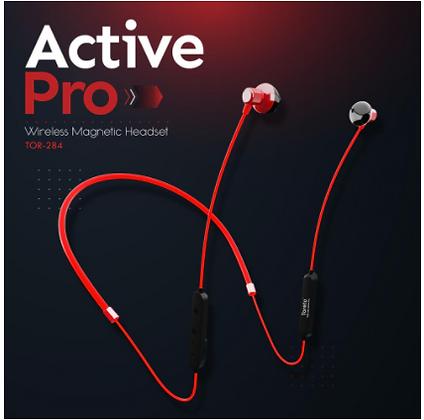 TorActivepro-284, in-Ear Wireless Bluetooth Earphone with Mic