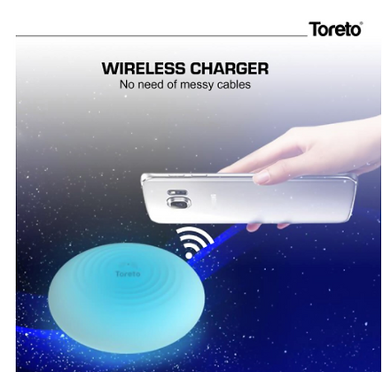 Magik-506, Qi-Certified Fast Wireless Charger, Charging Pad