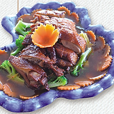 Deep fried Duck Breast with Honey Sauce