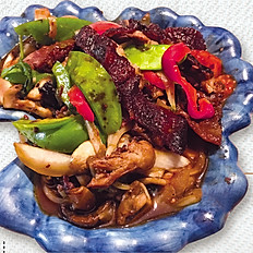 Basil Duck Stir-Fry