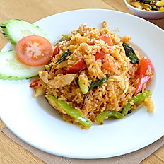 Basil Fried Rice (Khao Pad Kee Mao)