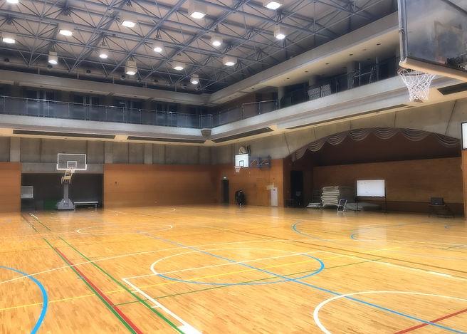 アレセイア湘南 バスケットボール部 アリーナ