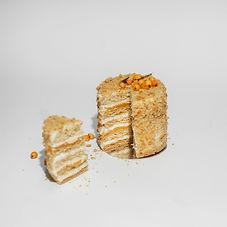 торт на замовлення медовий