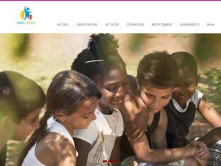 Création d'un site vitrine pour l'association Vers l'Avant