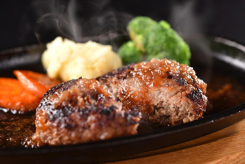 合挽肉ハンバーグ