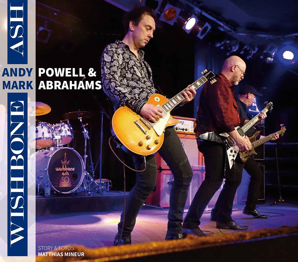 Mark Abrahams Wishbone Ash Interview Gitarre and Bass Magazine