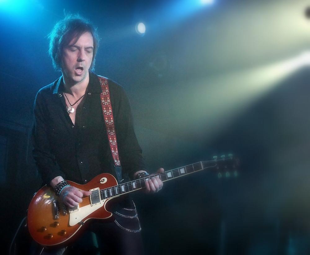 Mark Abrahams Of Wishbone Ash Tokai Love Rock Guitars
