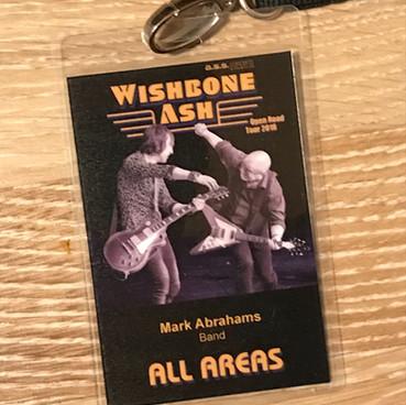 Wishbone Ash on tour Europe