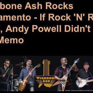 Excellent Wishbone Ash Live Review From Sacramento