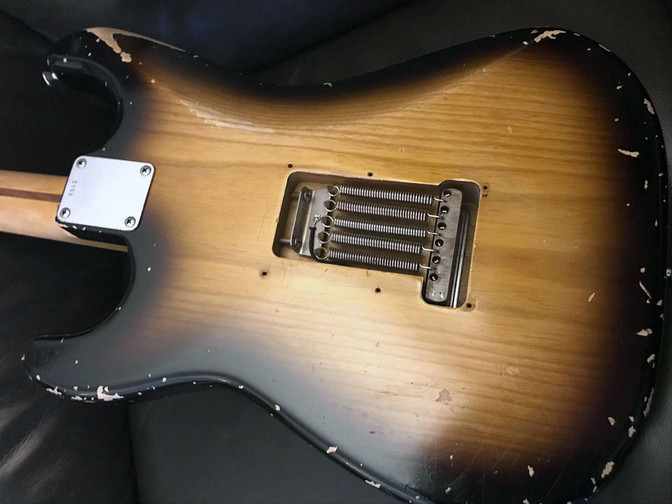 Bravewood '55 Stratocaster Back