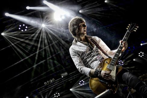 Mark Abrahams Guitarist Wishbone Ash