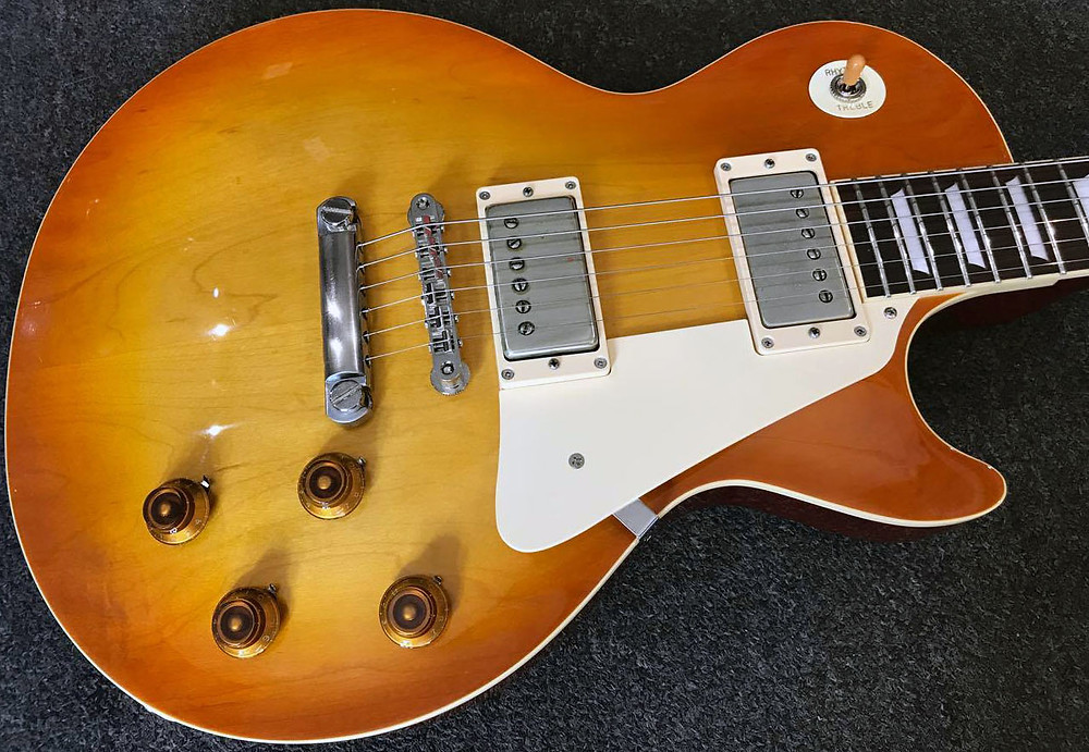 Mark Abrahams Wishbone Ash Made In Japan Tokai Les Paul