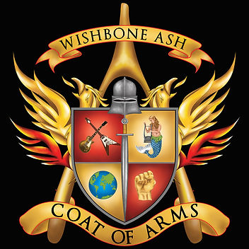 Wishbone Ash Coat Of Arms Album Featuring Mark Abrahams Guitar