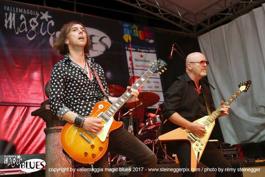 Mark Abrahams Wishbone Ash