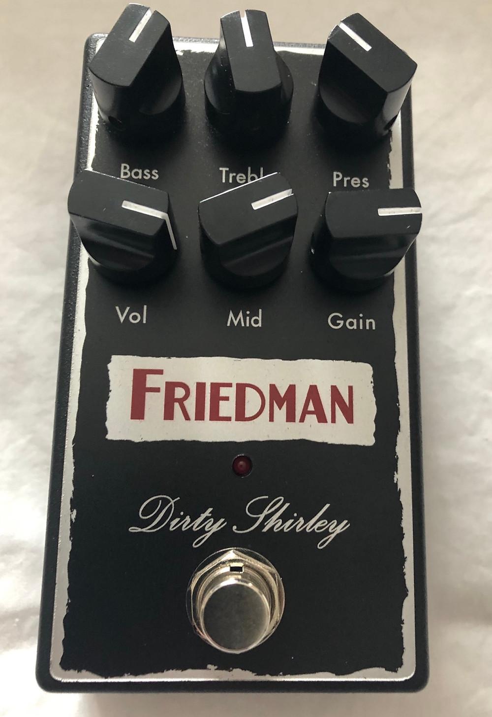 Friedman Dirty Shirley Overdrive Pedal vs BE OD