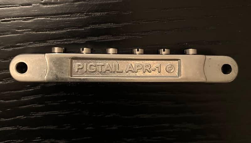Pigtail APR 1 ABR Les Paul Bridge Aluminium