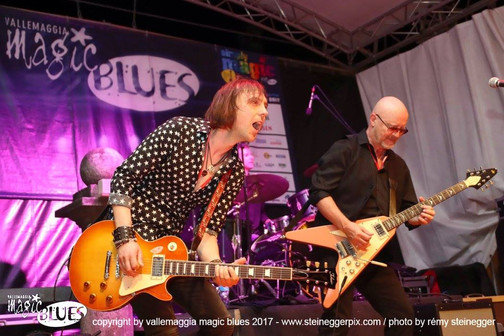 Mark Abrahams Andy Powell Wishbone Ash Magic Blues Festival