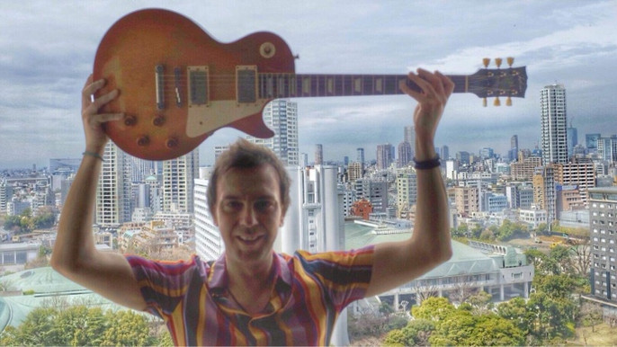 Wishbone Ash Japan Tour Mark Abrahams