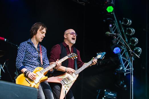 Mark Abrahams Wishbone Ash Sweden Rock