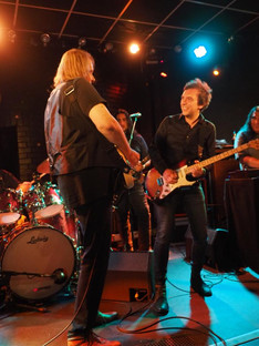Mark Abrahams and Walter Trout