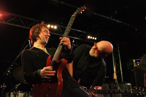 Mark Abrahams Les Paul Junior Wishbone Ash