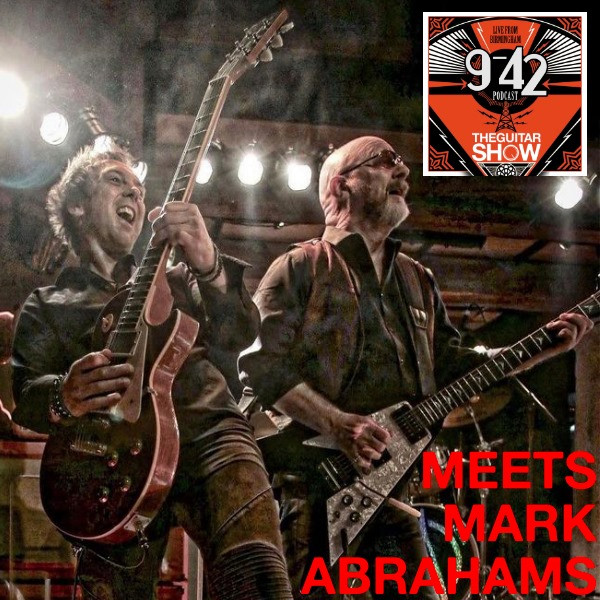 Mark Abrahams Wishbone Ash guitarist guitar show 9 to 42 podcast interview