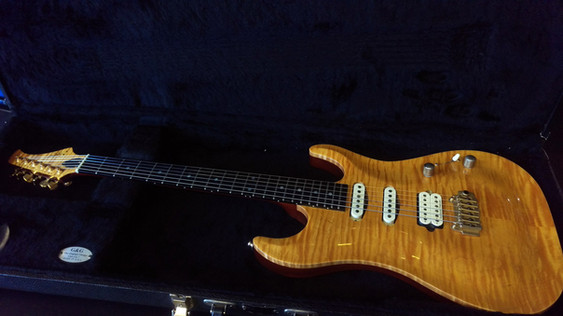 Elvidge Custom Guitars Flame Top