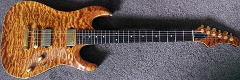 Elvidge Custom Guitars Quilt Top