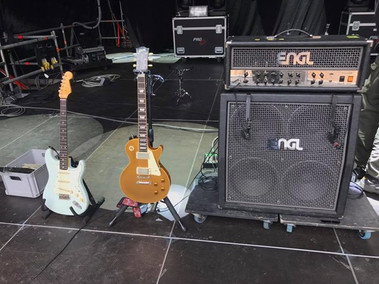 Mark Abrahams Guitarist Equipment