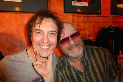 Mark Abrahams and Andy Powell Wishbone Ash